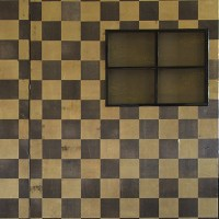 CHECKERBOARD SCREEN WITH WINDOWS