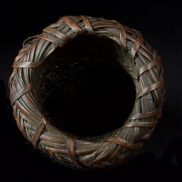 BAMBOO FOLK BASKET