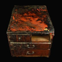 LACQUER WORKER BOX QF48