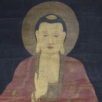 KOREAN BUDDHA SCROLL