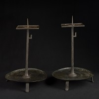 PAIR CANDLE STANDS TB03